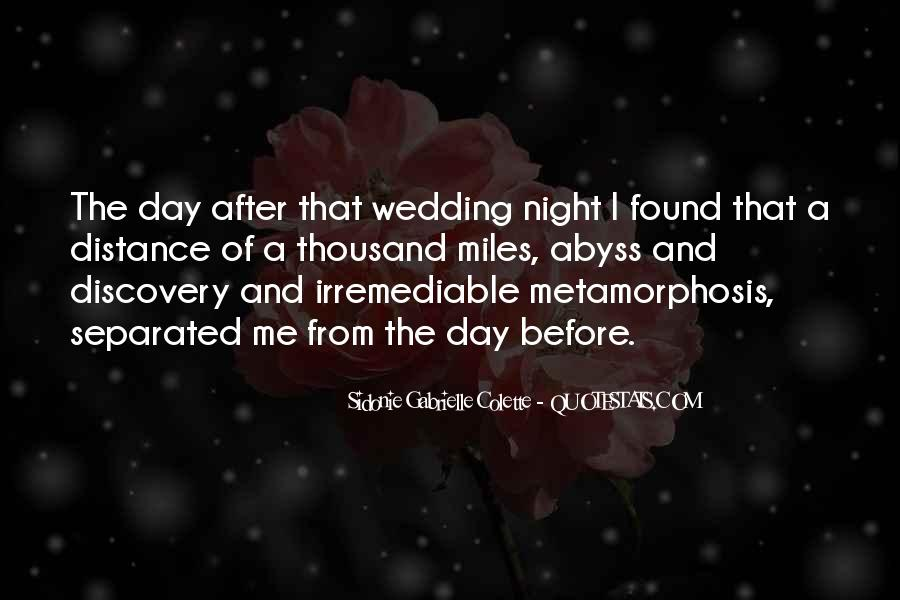Quotes About The Wedding Day #880796