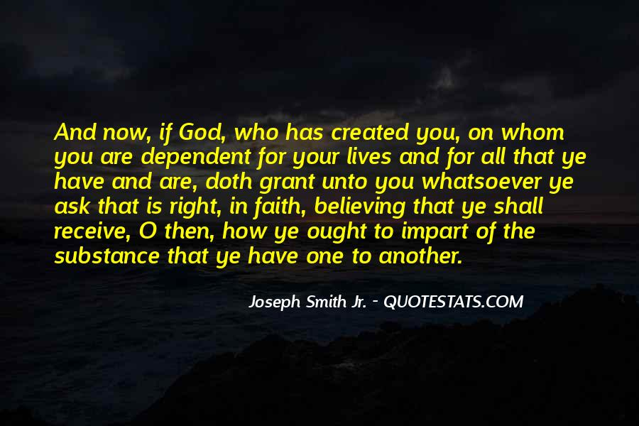 Quotes About Believing In One God #1279105