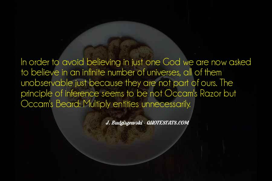 Quotes About Believing In One God #368137