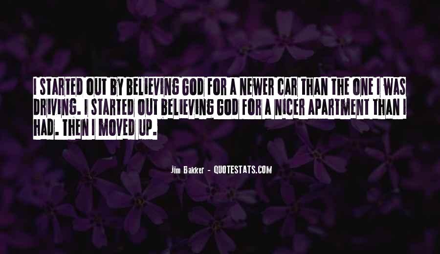 Quotes About Believing In One God #43974