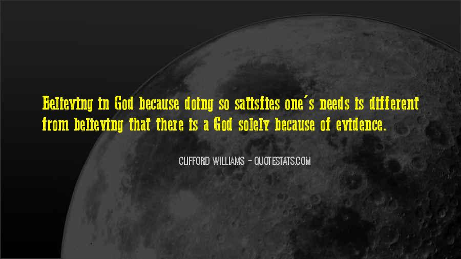 Quotes About Believing In One God #454761