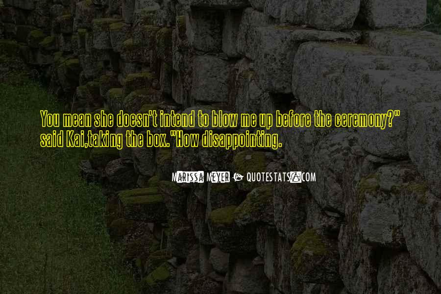 Quotes About Disappointing Others #113728