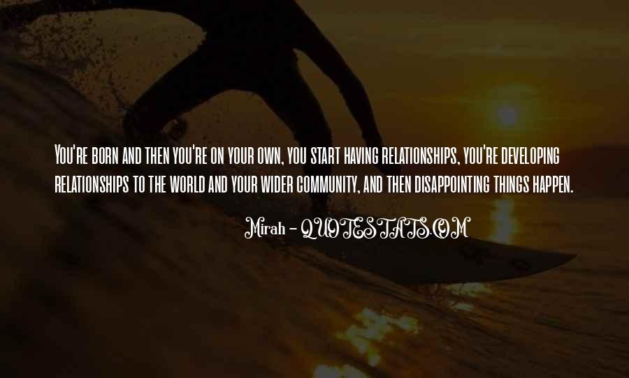 Quotes About Disappointing Others #151555