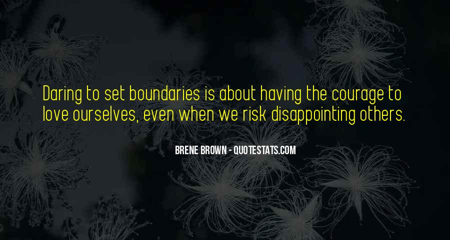 Quotes About Disappointing Others #1613544