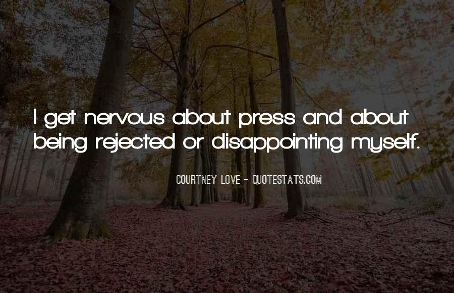 Quotes About Disappointing Others #169609