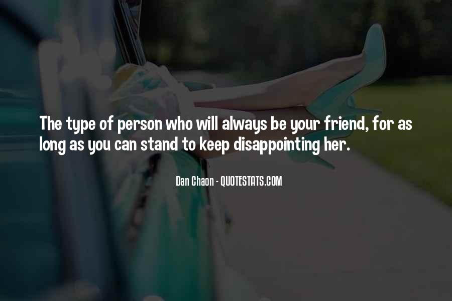 Quotes About Disappointing Others #177891