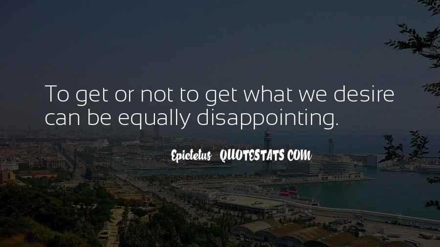 Quotes About Disappointing Others #194733