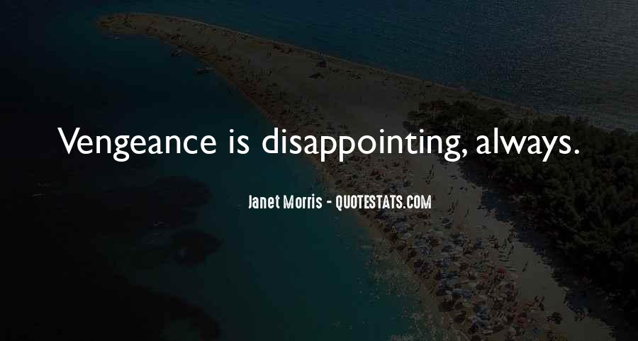 Quotes About Disappointing Others #91077