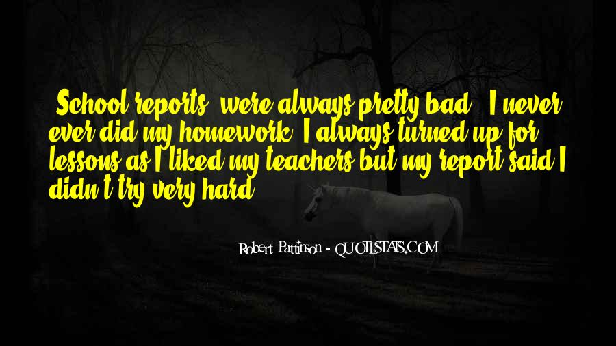 Quotes About Why We Should Have Homework #100013