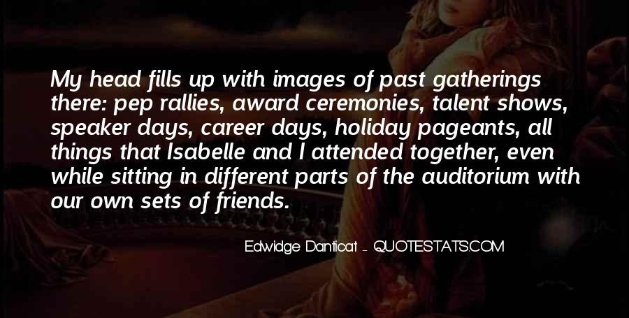Quotes About Past Friends #1057808