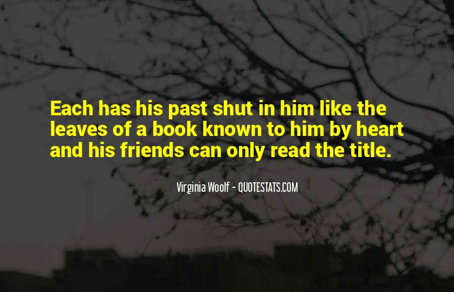 Quotes About Past Friends #533139