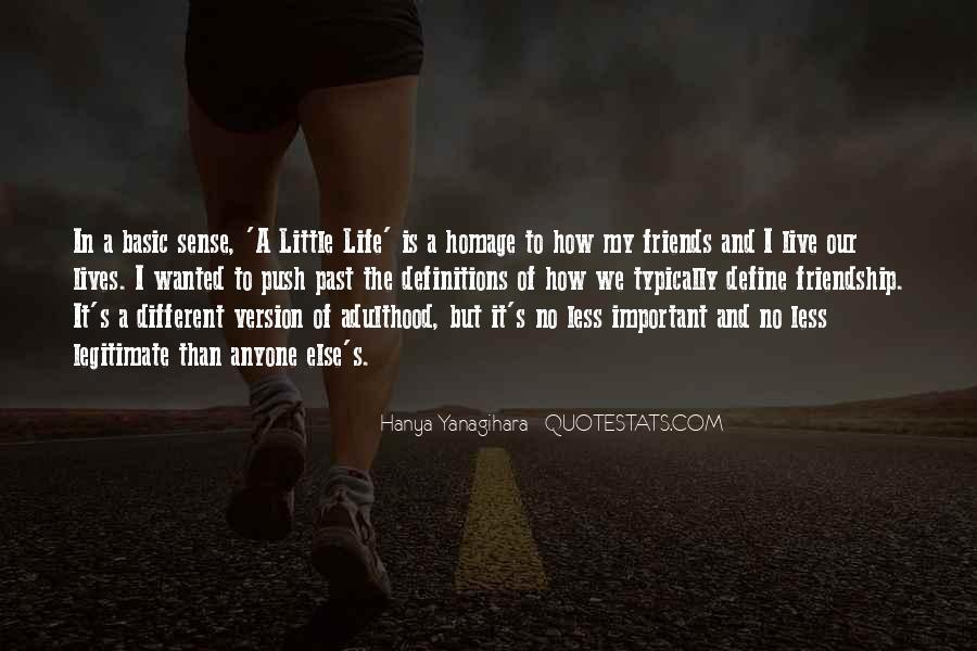 Quotes About Past Friends #604388
