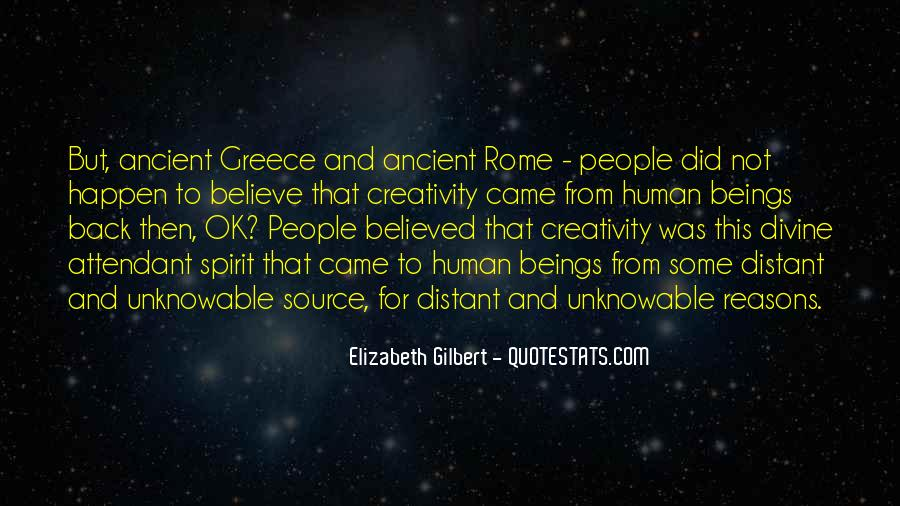 Quotes About Ancient Greece And Rome #1174884