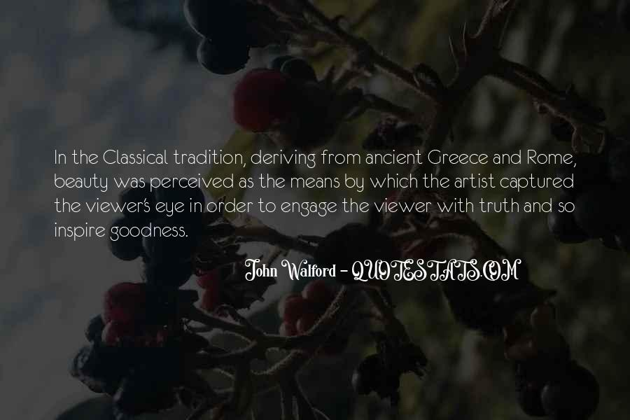 Quotes About Ancient Greece And Rome #1247381