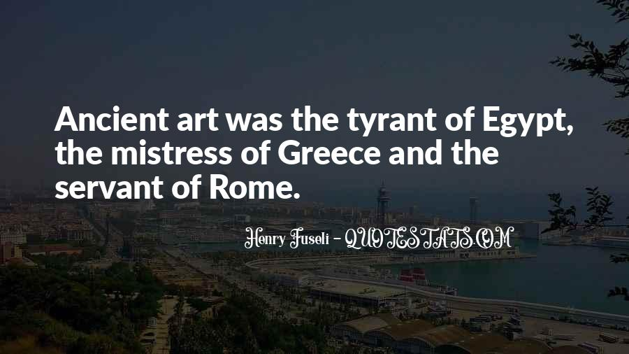 Quotes About Ancient Greece And Rome #1594079