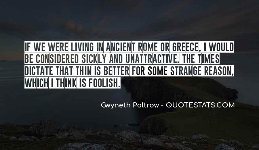 Quotes About Ancient Greece And Rome #1808893