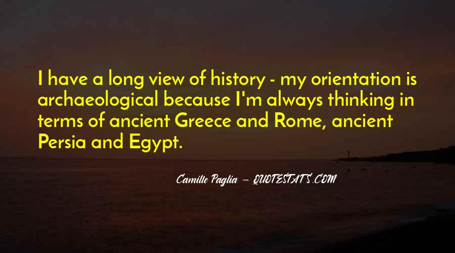 Quotes About Ancient Greece And Rome #1828604