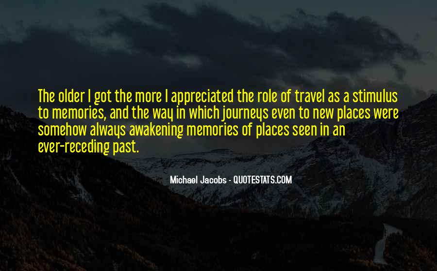 Quotes About Places And Memories #112983