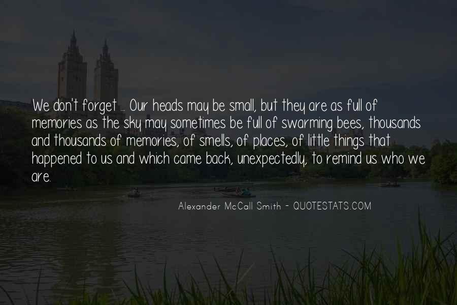 Quotes About Places And Memories #1206420