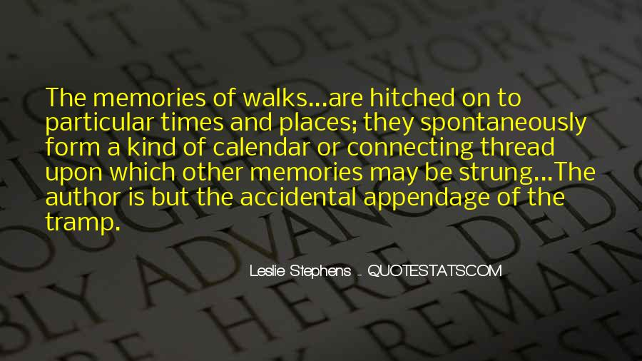 Quotes About Places And Memories #1419595