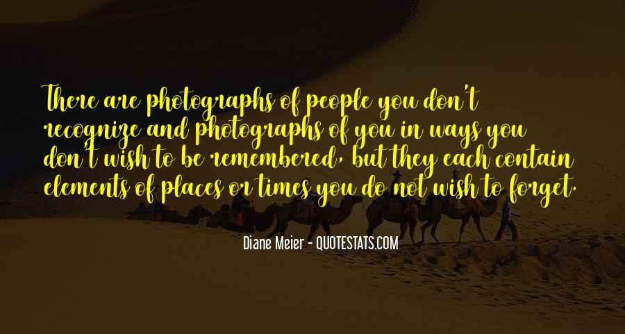 Quotes About Places And Memories #1450741