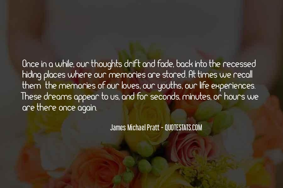 Quotes About Places And Memories #1602494