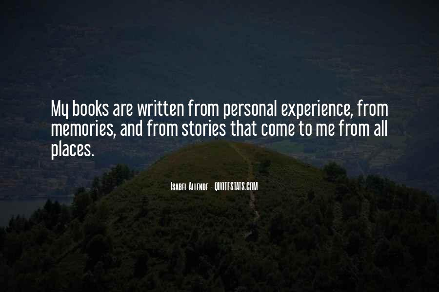 Quotes About Places And Memories #587484
