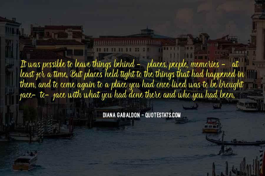 Quotes About Places And Memories #877151