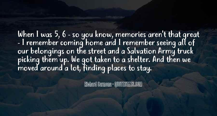 Quotes About Places And Memories #915548