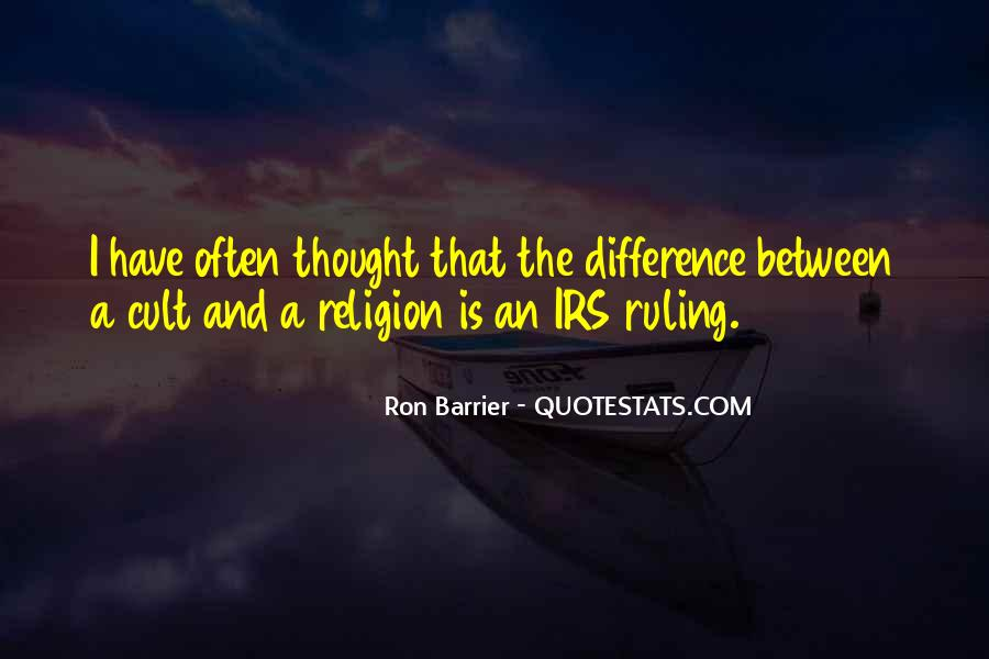 Quotes About Religious Differences #142063