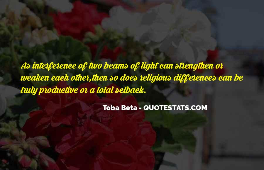 Quotes About Religious Differences #1665757