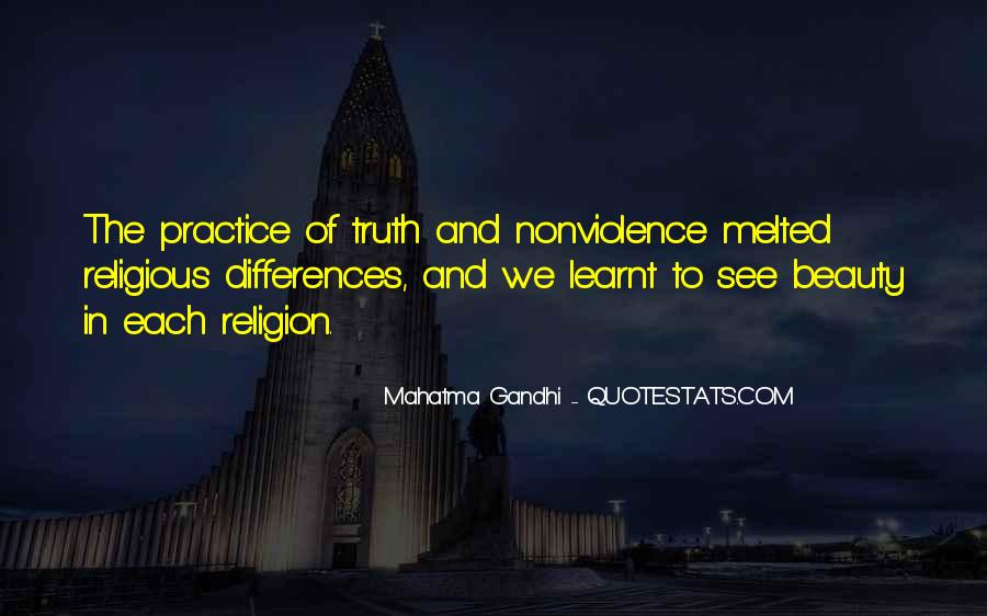 Quotes About Religious Differences #67095