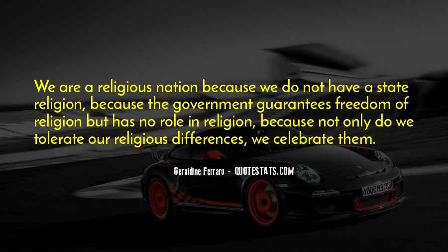 Quotes About Religious Differences #731135