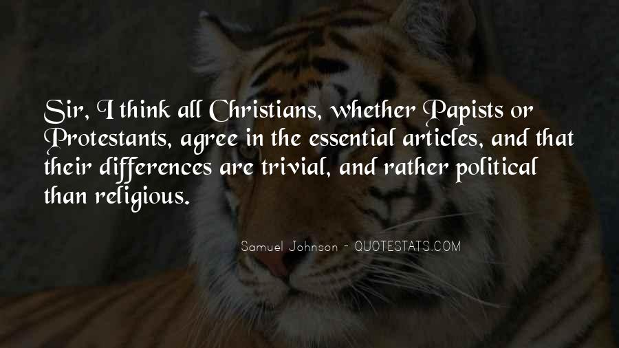 Quotes About Religious Differences #840016