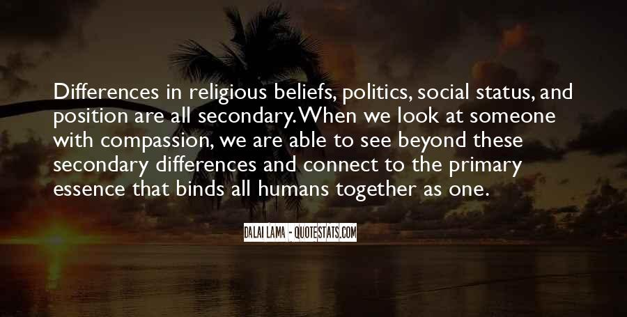 Quotes About Religious Differences #899792