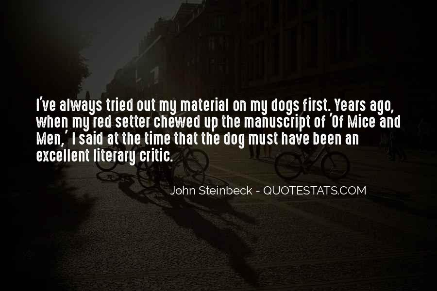 Quotes About Steinbeck #100372