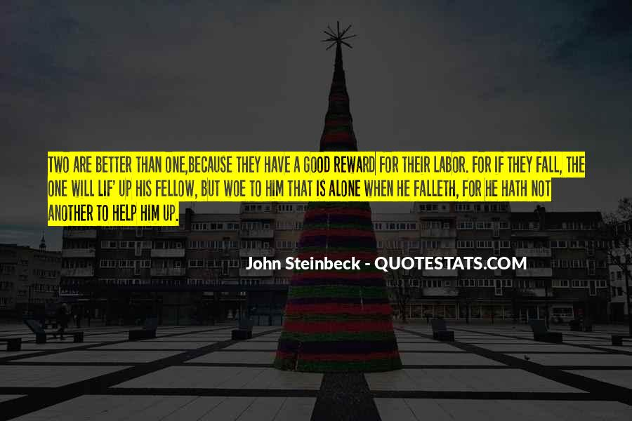 Quotes About Steinbeck #103543