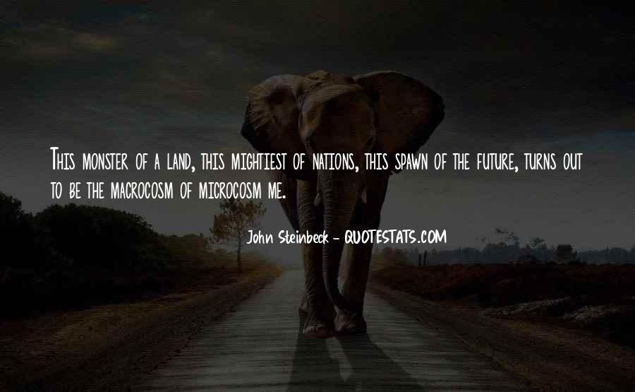 Quotes About Steinbeck #104770
