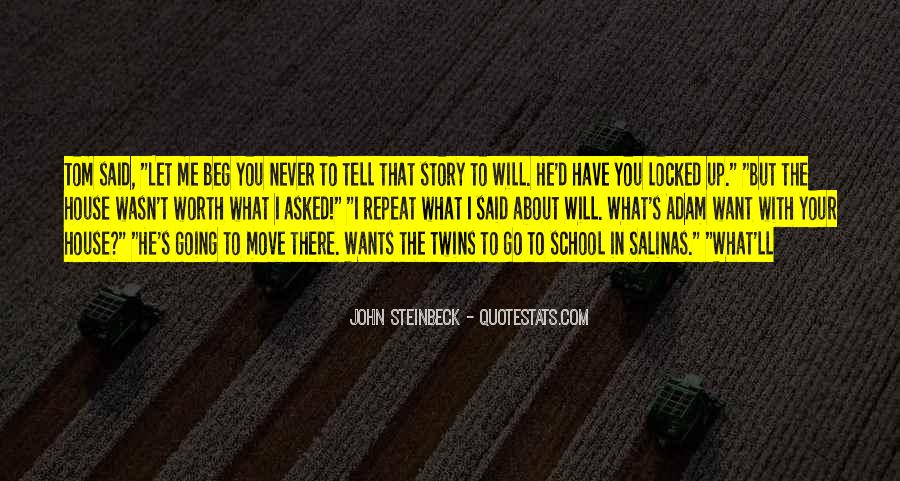 Quotes About Steinbeck #114765