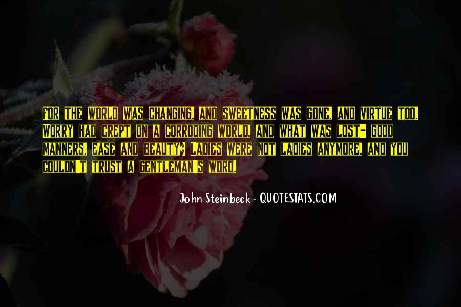Quotes About Steinbeck #1173