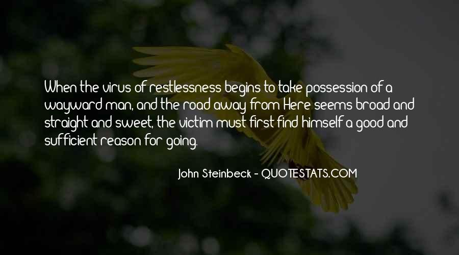 Quotes About Steinbeck #119778