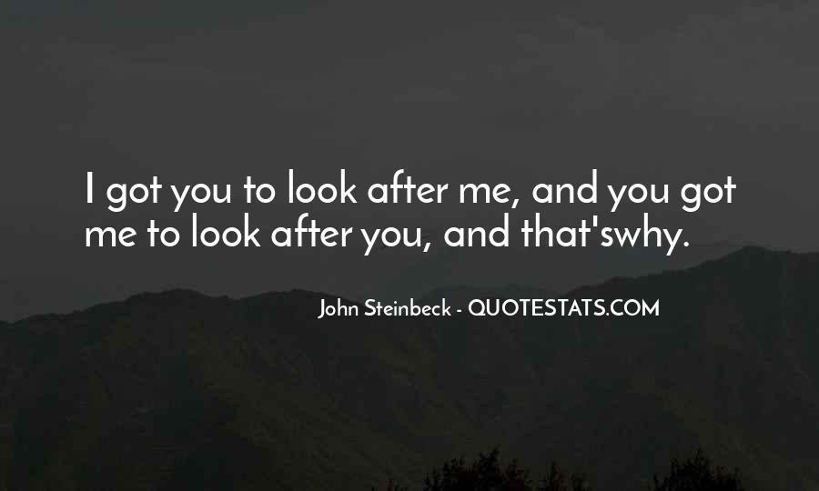 Quotes About Steinbeck #119884