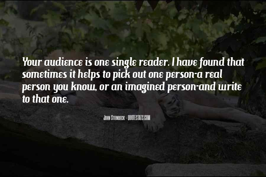 Quotes About Steinbeck #125188