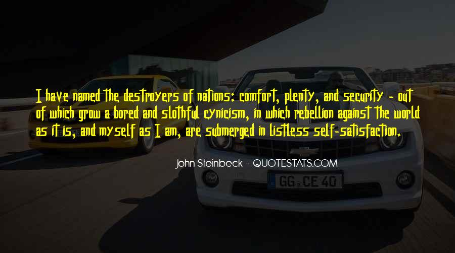 Quotes About Steinbeck #19487