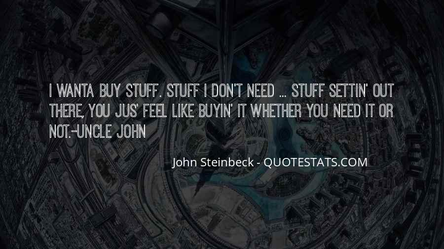 Quotes About Steinbeck #19928