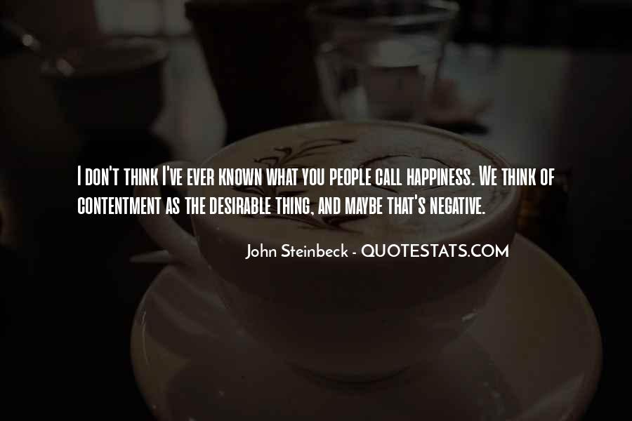 Quotes About Steinbeck #21988