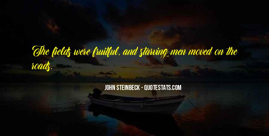 Quotes About Steinbeck #31397