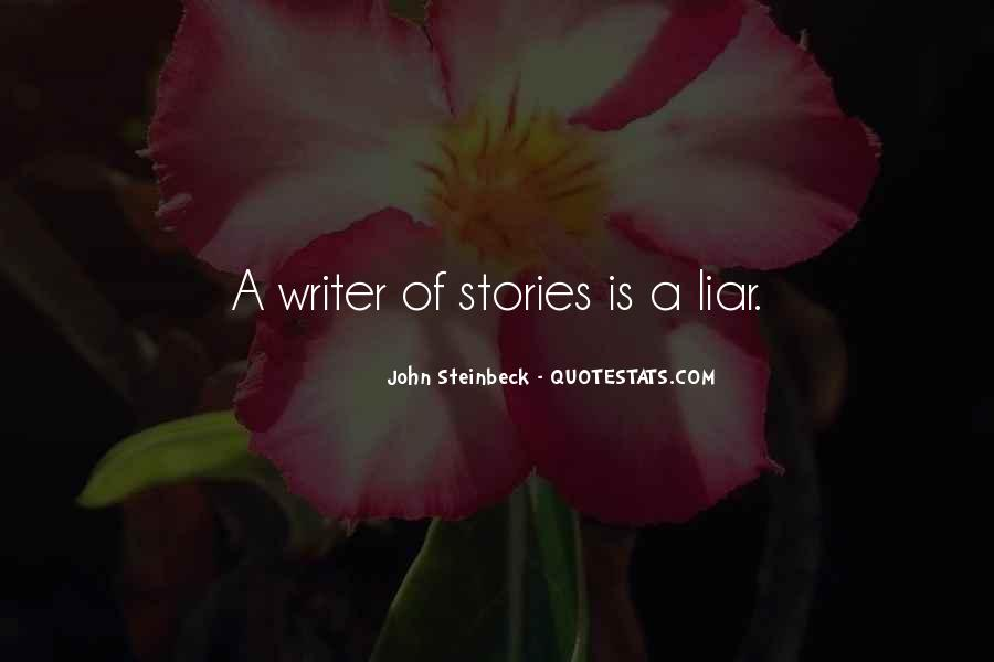 Quotes About Steinbeck #38168