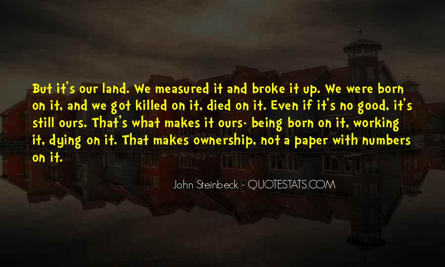 Quotes About Steinbeck #40551