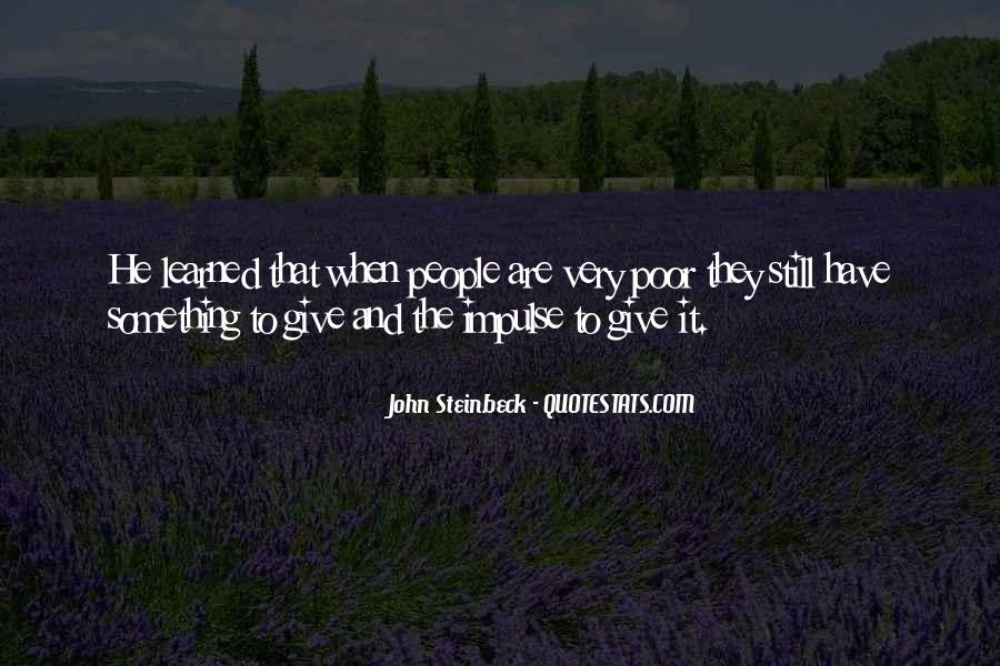 Quotes About Steinbeck #52768